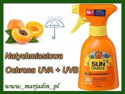 Sun Dance Spray Morelowy do Opalania ext Marchwi SPF30