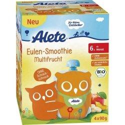 Alete Bio Deserek 4x90r Wygodne Tubki Multifrucht