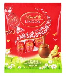 Lindt Lindor Wielkanocne Jajeczka Topiący się Krem 9szt 90g