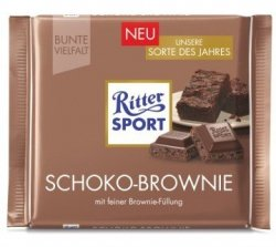 Ritter Sport Schoko Brownie CZEKOLADA ROKU