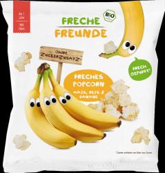 Erdbar Bio Ekologiczny Pop Corn Kukurydza Ryż Banany