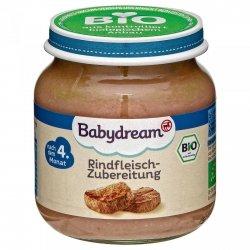 BabyDream Bio mięso Wołowina 4m 125g