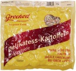 Gotowe Spożycia Ziemniaki gotowane z Olejem Talarki Plasterki 6mm 3kg