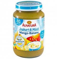Alnatura Bio Mango Banan Zboża Jogurt 10m 190g