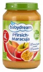 BabyDream Bio Brzoskwinia Jabłko Marakuja 4m 190g