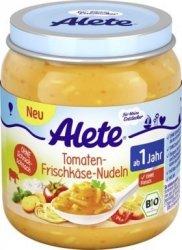 Alete Bio Makaron W Sosie Pomidorowym z Serem 12m 250g