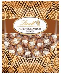 Lindt Safari jajeczka czekoladowe mleczna czekolada 180g