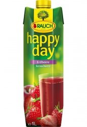 Rauch Happy Day Truskawka Naturalny Sok Wegan