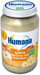 Humana BIO 100% Jablko Banan Keks Maślany