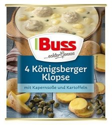 Buss Gotowe Danie Klopsiki W Sosie Kaparowym Z Ziemniakami