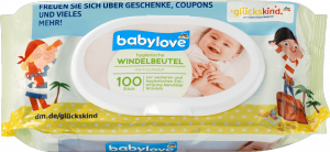 Babylove Zapachowe Woreczki Zużyte Pieluchy 100