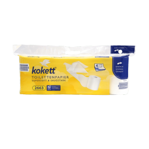 Kokett Papier toaletowy Premium miękki 4 warstwy 10x160