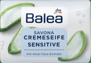 Balea Sensitive Mydło w kostce dla alergików Aloes