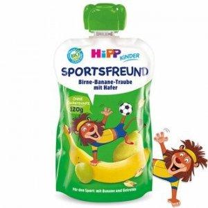 Hipp Sportfreund Gruszka Banan Winogron Owiec 120ml