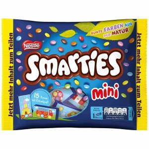 Smarties Drażetki Czekolada Skorupce Lentilki 216g 15szt