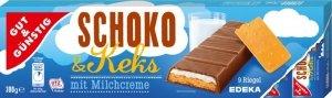 GG Ciasteczka Mleczna czekolada Nadzienie 300g