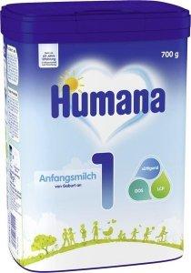 Humana 1 początkowe mleko od urodzenia 700g