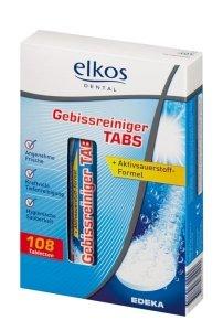 Elkos Tabletki do czyszczenia protez zębowych 108 szt.