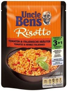Uncle Bens gotowe Danie Risotto Pomidory Zióła