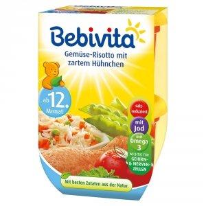 Bebivita Risotto z Warzywami i Kurczakiem 12m 2x250g