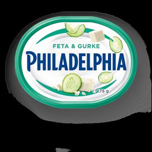 Philadelphia Serek śmietankowy z ogórkiem i fetą 175g