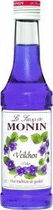 Monin Syrop Cukrowe Fiołki Drinki Napoje 250ml NEW