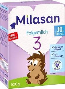 Milasan 3 mleko następne 500g po 10m życia