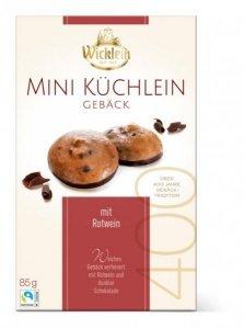 Wicklein Mini Ciasteczka Ciemna Czekolada Rotwein 85g