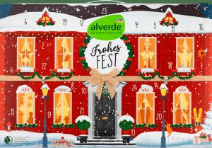 Alverde Kalendarz Adwentowy Naturalne Kosmetykami 2020