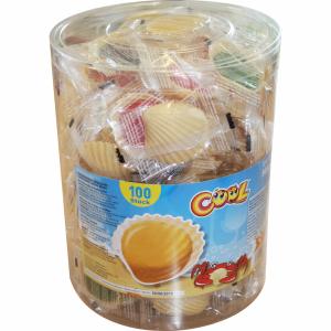 Cool Schleckmuscheln Karmelki w Muszelkach 100szt