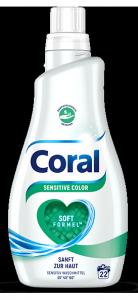 Coral Sensitive Color koncentrat żel Prania dla Dzieci Alergików