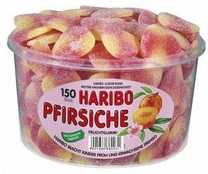 Haribo Żelki Brzoskwinie w cukrowej 150szt Niemiec