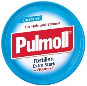 Pulmoll Extra Mocne Cukierki B/Cukru Wegan