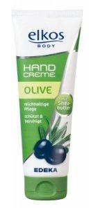 Elkos Olive Krem do rąk oliwa Masło Shea 125 ml