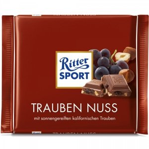Ritter Sport Trauben Nuss Czekolada Winogron Orzechy 100