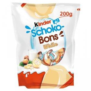 Ferrero Kinder Schoko Bons White cukierki 200g