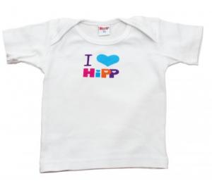 I LOVE HIPP Bawełniana koszulka dla chłopca