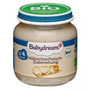 BabyDream Bio mięso z Kurczaka 4m 125g
