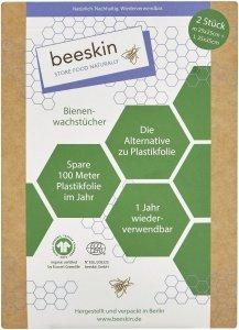 Beeskin Ekologiczna Alternatywa Folia Spożywcza 2szt