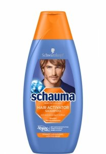 Schauma Hair Activator Men Aktywujący szampon włosów 400 ml