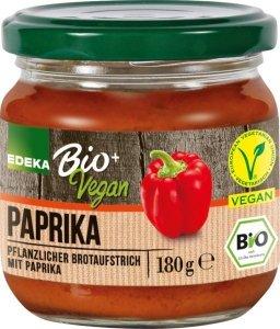 Edeka Bio Wegańska pasta pasztet Krem Paprykowy DE