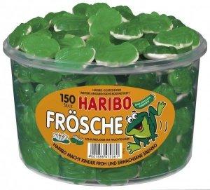 Haribo Owocowe Żabki  Z Marshmallow 150szt 1050g DE