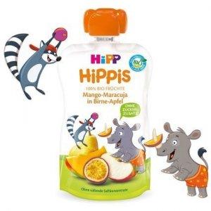 Hipp Hippis 100% Owoców Mango Marakuja Gruszka Jabłko 100g