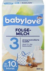 Babylove 3 Mleko następne od 10 miesiąca 500g