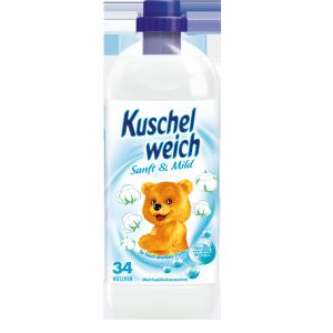 Kokolino płyn płukania Kuschelweich Sanft Mild Sensitiwe 1L DE