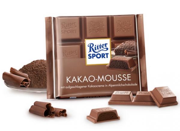 Ritter Sport Kakao Mousse puszysta masa kakaowa 100g