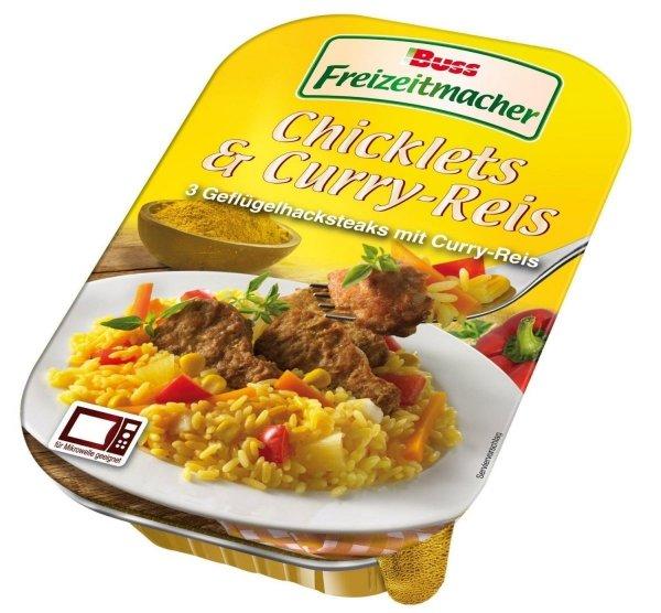 Buss gotowy obiad Kurczak Curry Ryż Ananas Papryka