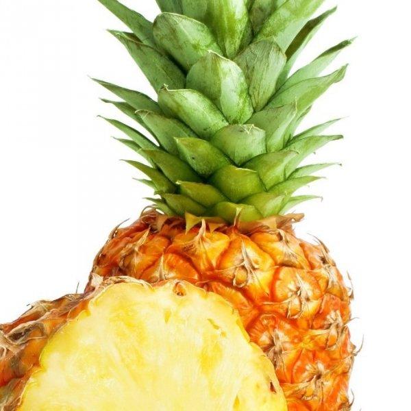 Ekologiczny Bio świeży Ananas 1 sztuka