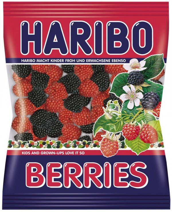 Haribo Żelki Berries Maliny Jeżyny 200 FV