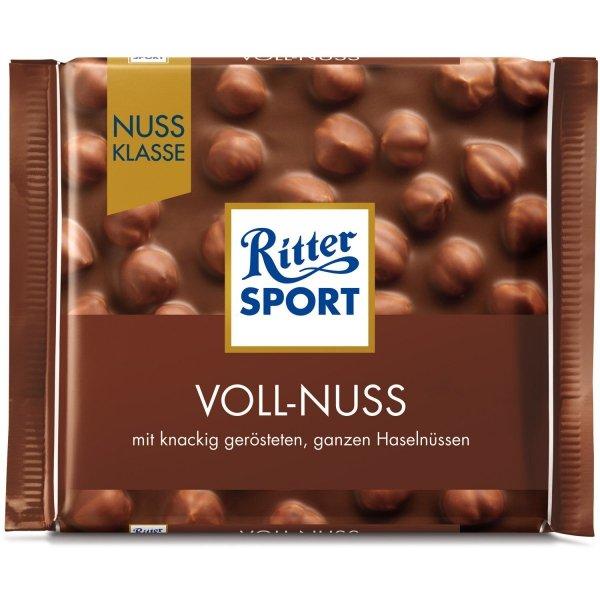 Ritter Sport Voll Nuss mleczna Czekolada Orzechy 100